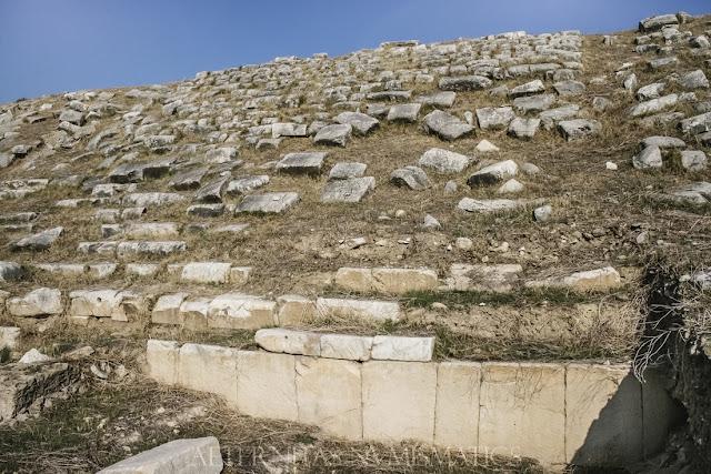 graderíos del estadio de Laodicea