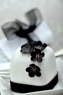 Cupcakes Blanco y Negro, parte 5