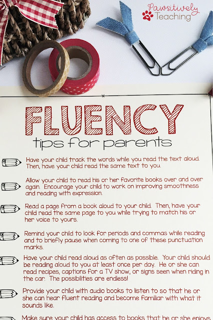 Need Tips for Improving Reading Fluency in the Primary Grades?