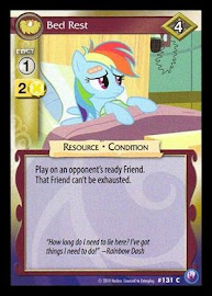 My Little Pony Bed Rest Canterlot Nights CCG Card