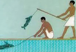 صيد السمك في الحضارة الفرعونية