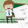 Format Administrasi Guru Kelas Sekolah Dasar Lengkap (Galeri Guru)