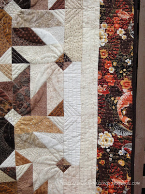 Fall 2013 Mystery Quilt, quilting detail 3