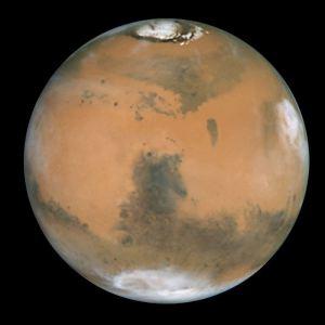Emisfero del pianeta Marte