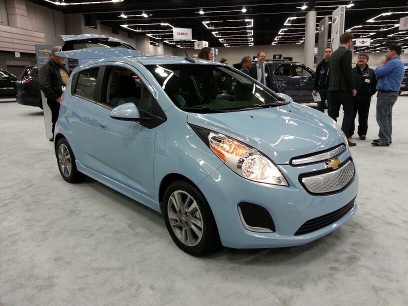 in the flesh 2014 chevrolet spark ev subcompact culture the small car blog. Black Bedroom Furniture Sets. Home Design Ideas