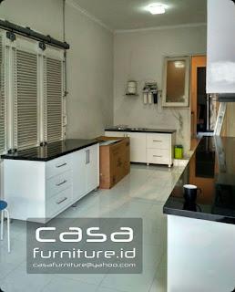 Kitchen Set Duco Di Gading Serpong Furniture Minimalis