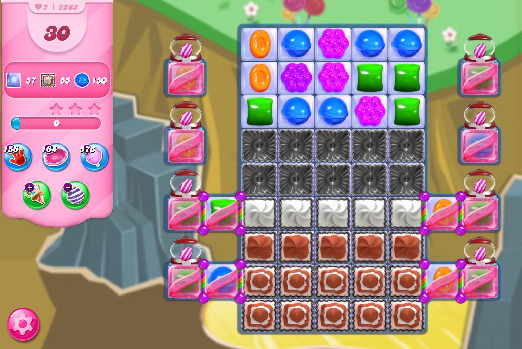 Candy Crush Saga level 6233