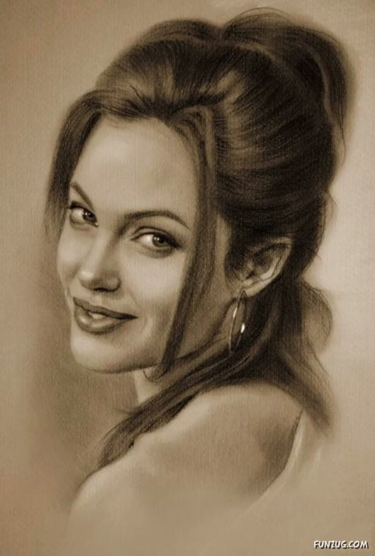 Strider News: Pencil Art Of The Famous People