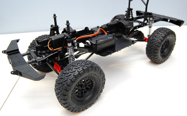 Axial SCX10 II chassis