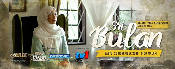 Sinopsis telemovie Sri Bulan TV1, pelakon dan gambar telemovie Sri Bulan TV1