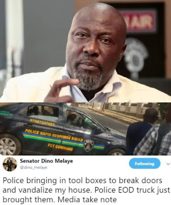 Senator Dino Melaye Cries Out For Help On Twitter