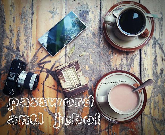 Cara membuat password yang anti jebol, password yang aman, passphrase