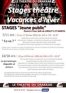 Stages Jeune public