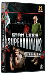 DVD Review: Stan Lee's Super Humans Season One - Hollywood the Write Way