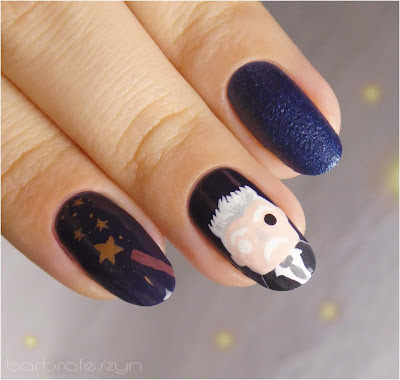 Fantastic Beasts nails
