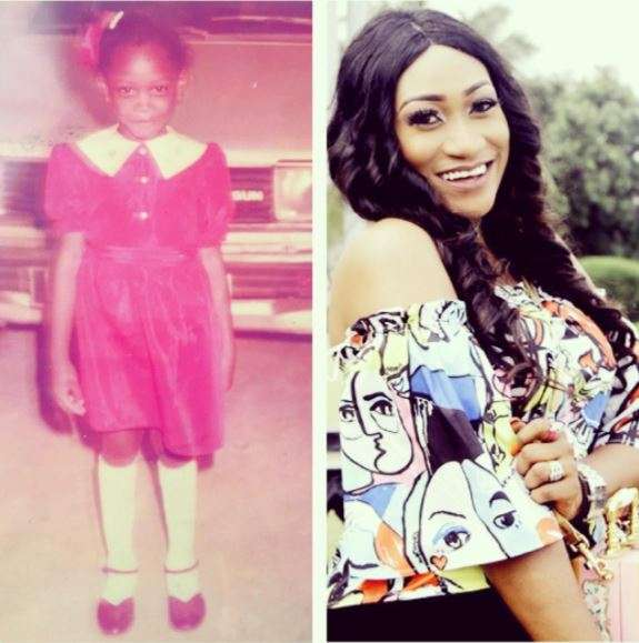 Compare This childhood photo of Oge Okoye and Her Present Look.