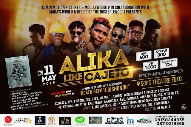ALIKA LIKE CAJETO CONCERT!!!  Plan to attend do not miss it
