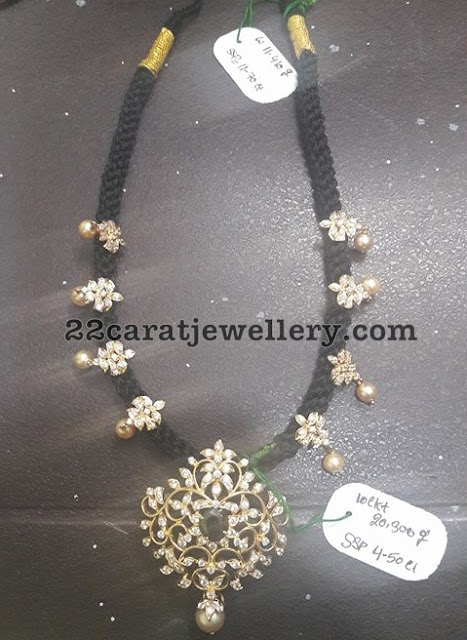 20 Grams Black Thread Necklaces