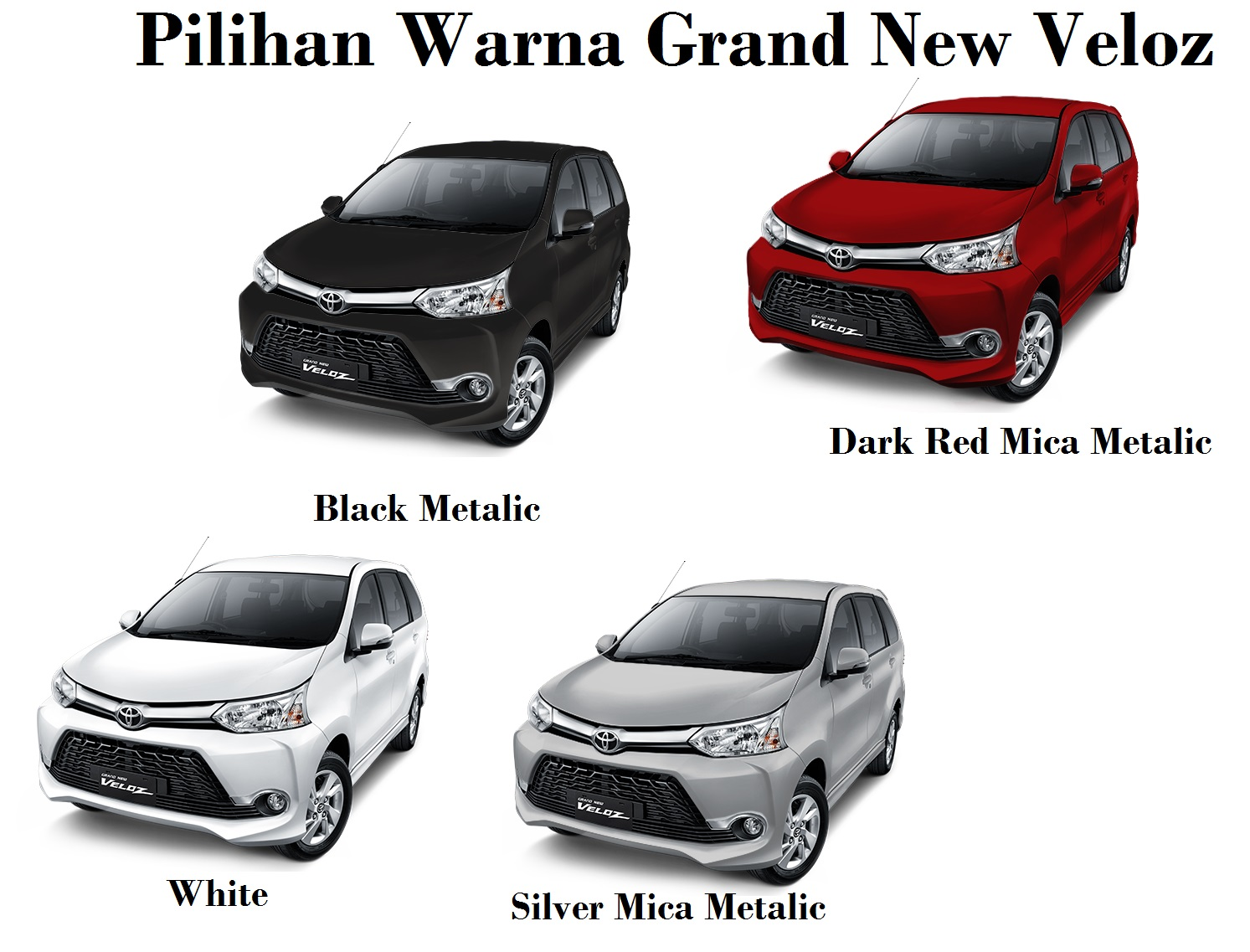 Warna Grand New Avanza Dark Brown G 1.3 Mt Dan Veloz Mendaki Kemuning