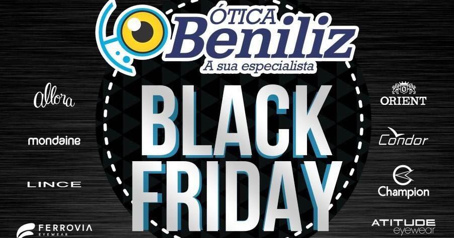 1ea510cf2c7da BLACK FRIDAY DA ÓTICA BENILIZ COM DESCONTOS DE ATÉ 50%, CONFIRA! ~ Mombaça  On-Line