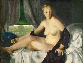 George Wesley Bellows - Обнаженная с веером