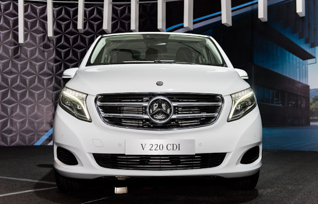 Mercedes V220 d AVANTGARDE thiết kế có chiều sâu