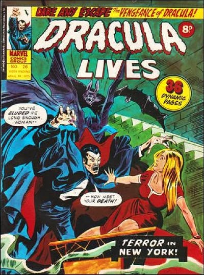 Marvel UK, Dracula Lives #26
