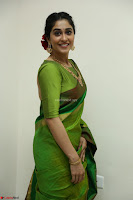 Regina Caasandra Looks Absolutely Gorgeous in Green Saree Choli At Sankarabharanam Awards 2017 ~  Exclusive 037.JPG