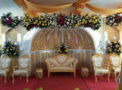 dekorasi pernikahan modern terbaru