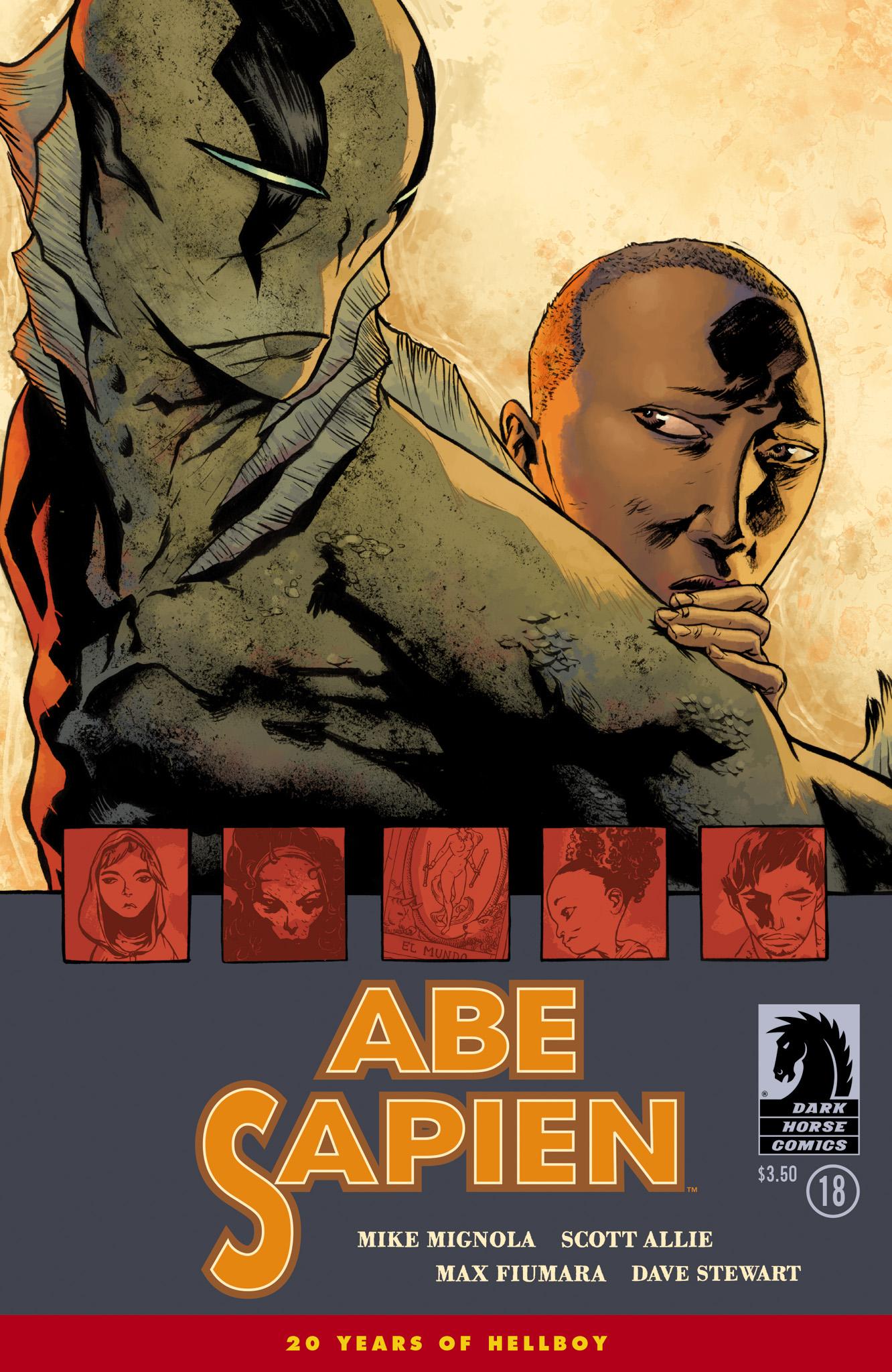 Read online Abe Sapien comic -  Issue #18 - 1