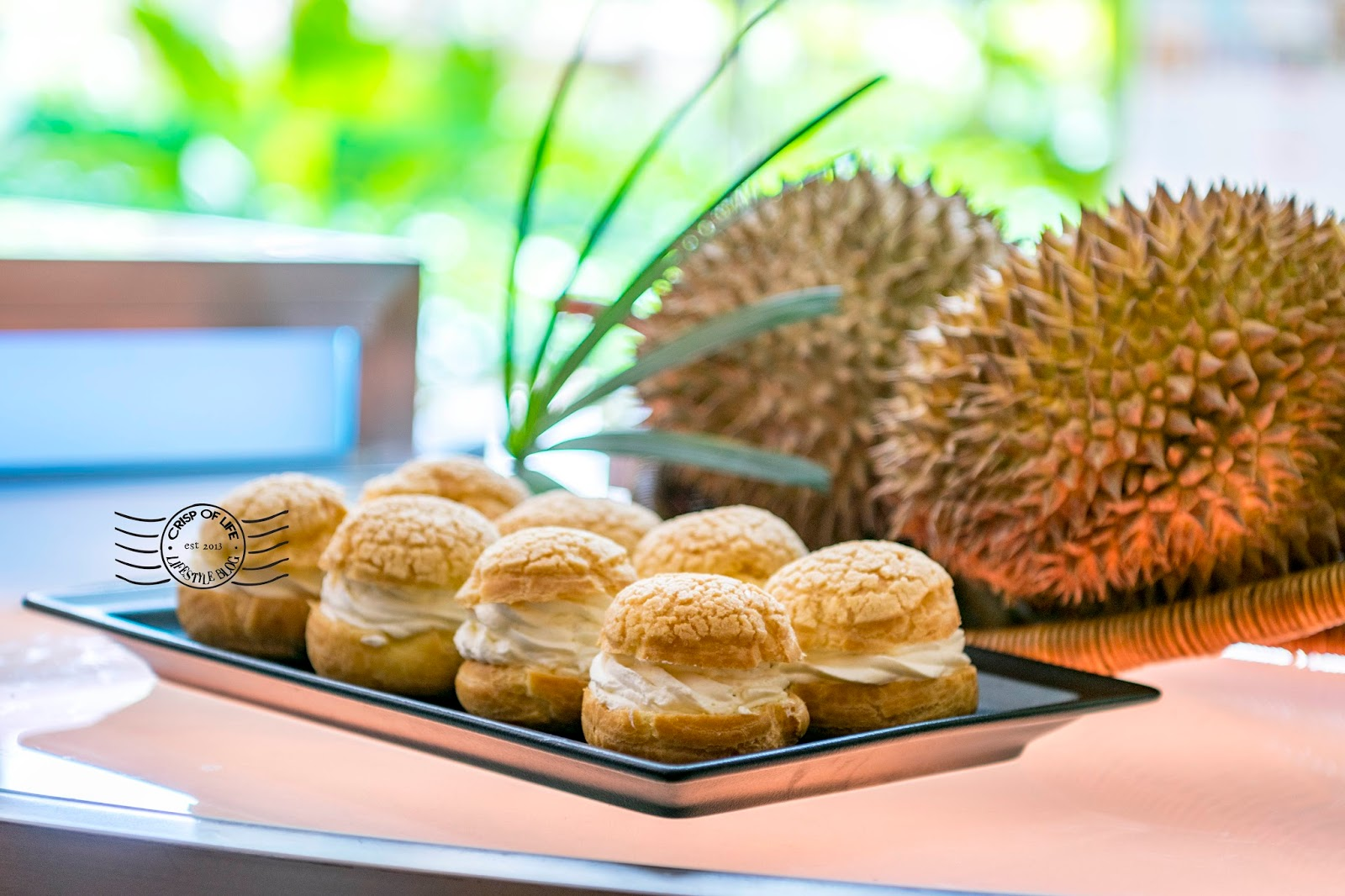 [Limited Time] Durian Puff @ Rasa Deli, Shangri-La's Rasa Sayang Resort and Spa, Batu Ferringhi, Penang