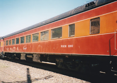 NRM Coach #2202 in Wishram, Washington, on June 7, 1997