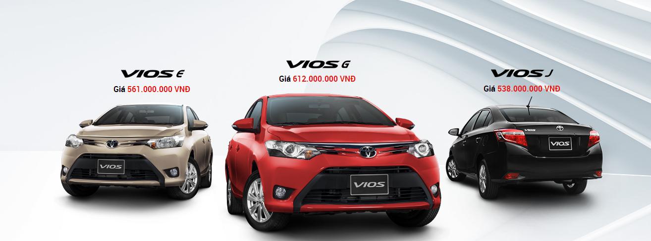 toyota vios 2015 giao ngay toyota tan cang -  - Vios E và G : Mẫu xe nào dành cho bạn ?