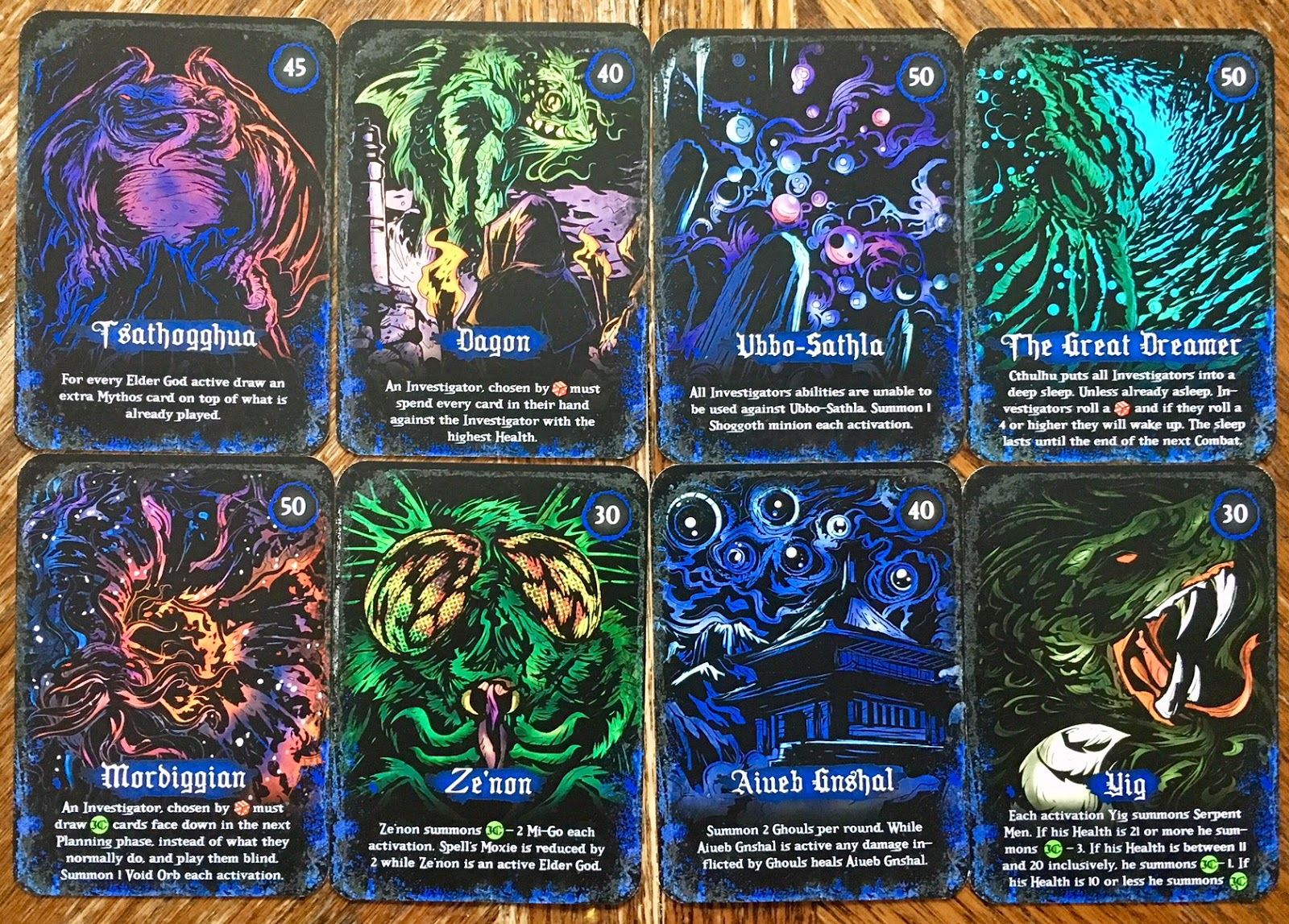 A Strategy Deck Building Game Cthulhu