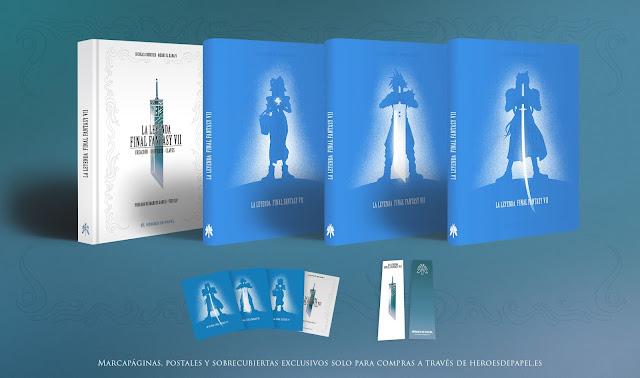Todos los secretos de Final Fantasy VII al descubierto en un libro de leyenda