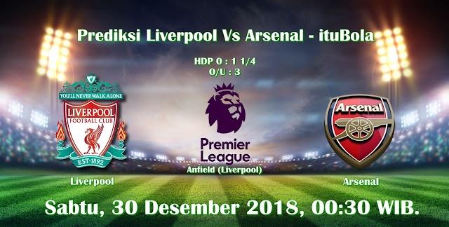 Prediksi Liverpool Vs Arsenal - ituBola