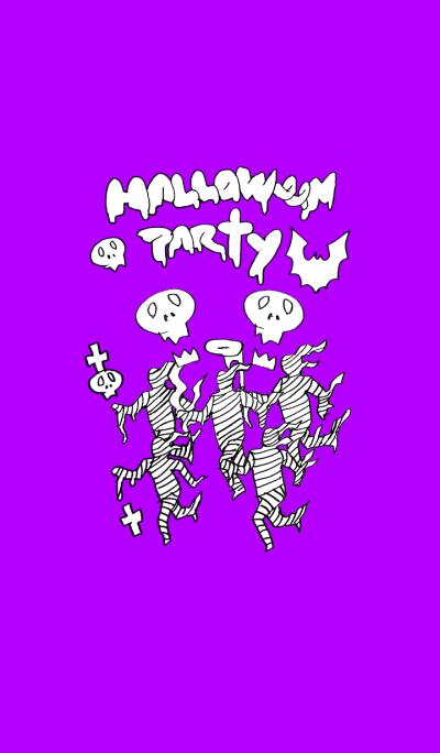 Halloween party (purple)