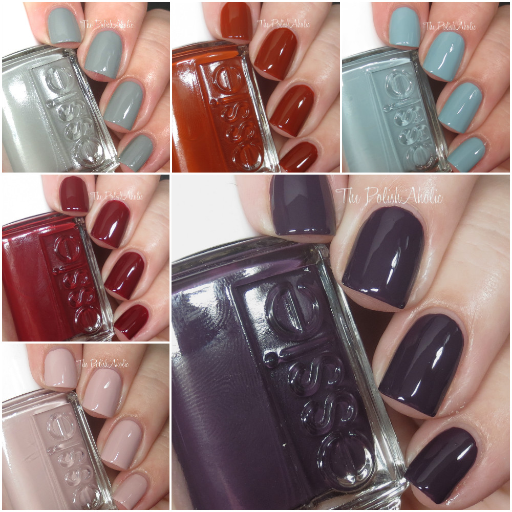 Today I Have The Essie Fall 2016 Collection To Share With You These Polishes Take Inspiration From Japan And All 6 Are Cremes Check Out Swatches After