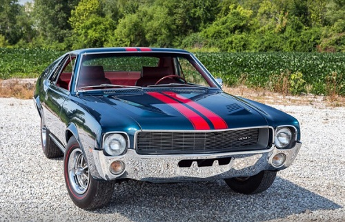 Muscle Car Collection 1968 American Motors Corporation Amc Amx