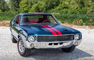 1968 AMC AMX Sports Coupe Front