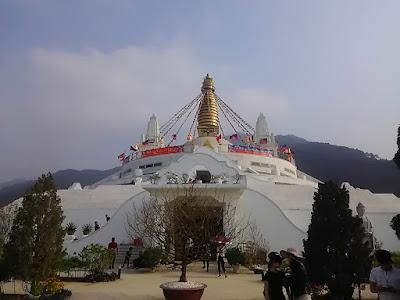 西天寺の仏塔(Great Stupa Mandala)