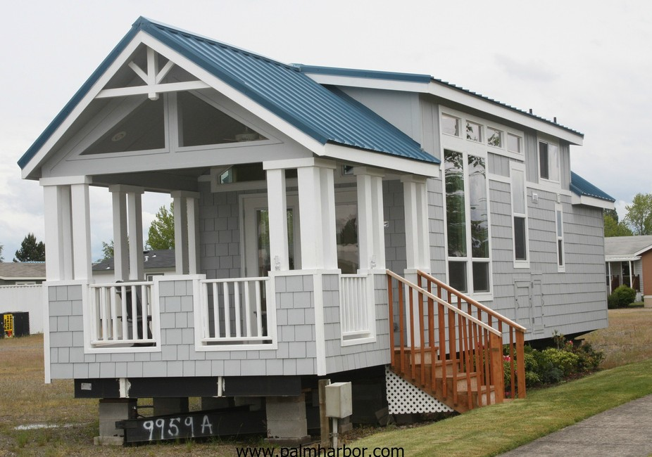 Greenotter's Manufactured Home Reviews: Full of charm: Palm