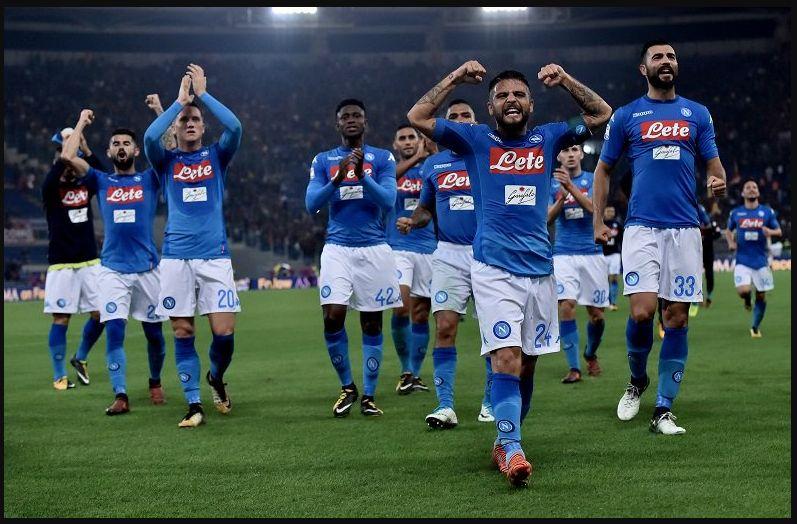 ROMA NAPOLI è finita 0-1: adesso i punti dalla Juventus sono diventati 5