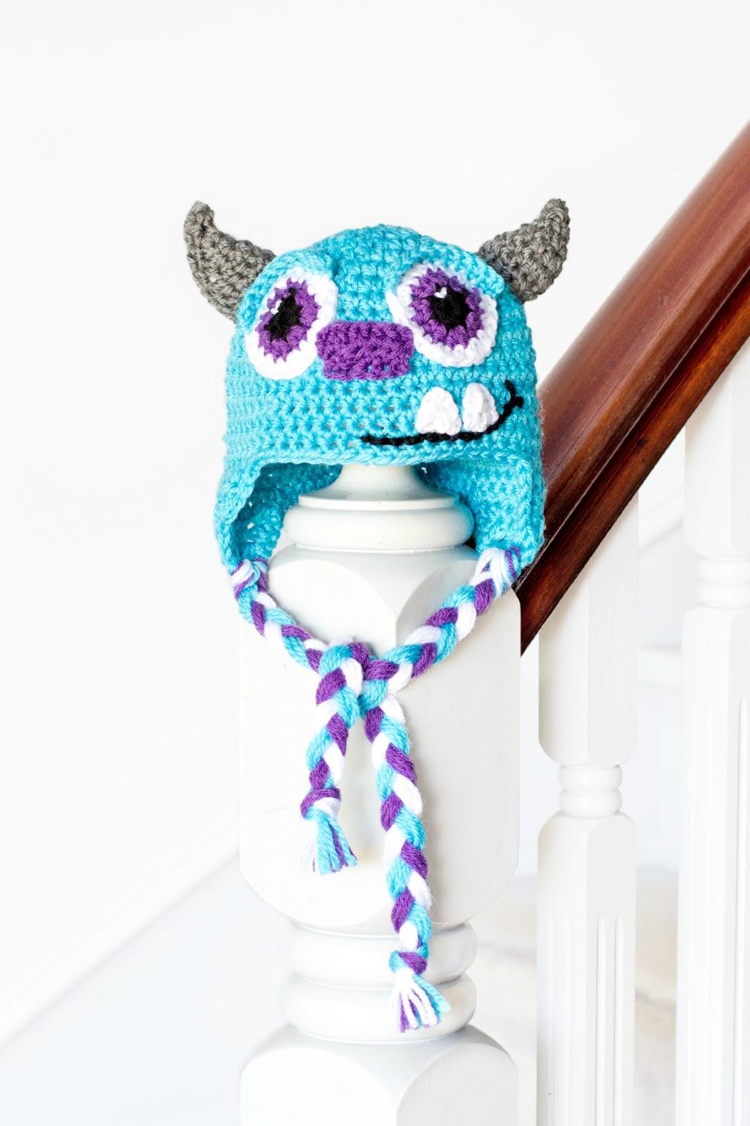 Hopeful Honey Craft, Crochet, Create: Monsters Inc. Mike ...