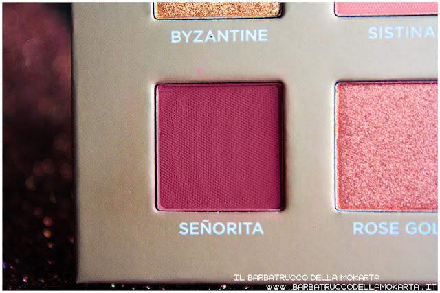 senorita dreamy eyeshadow palette nabla cosmetics ombretti