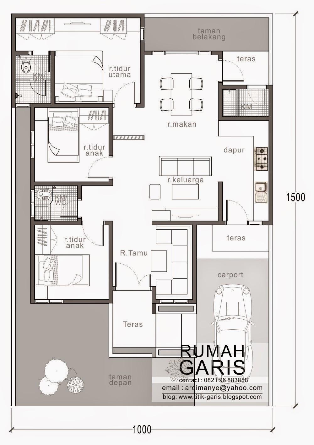Desain Rumah Minimalis Modern 10 X 15 Expo Desain Rumah