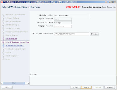 Upgrade Oracle Enterprise Manager Cloud Control 12c, Oracle Database Tutorials and Materials, Oracle Database Certifications, Oracle Database Guides