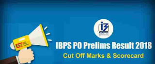 IBPS PO Preliminary Exam Result is out 2018