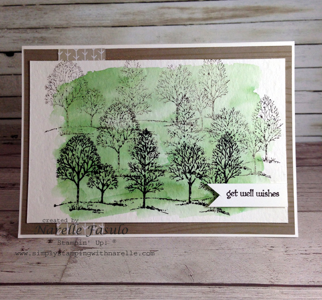 Lovely As A Tree - Narelle Fasulo - Simply Stamping with Narelle