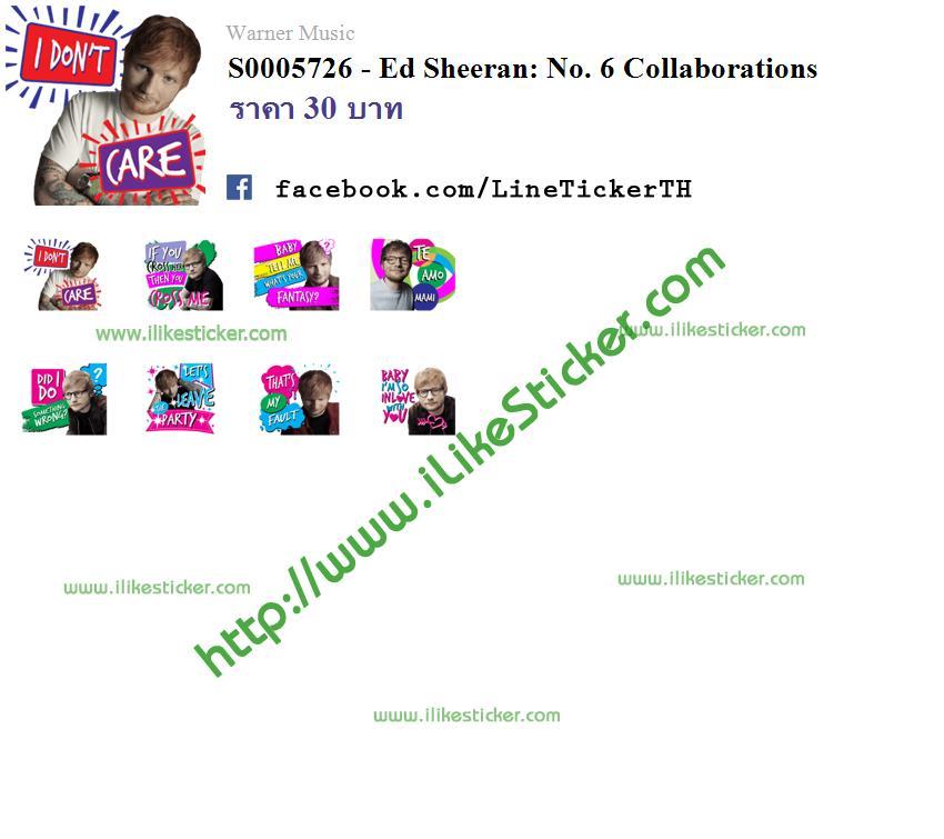 Ed Sheeran: No. 6 Collaborations